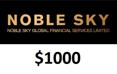 Bonus Forex Tanpa Deposit Noble Sky $1000