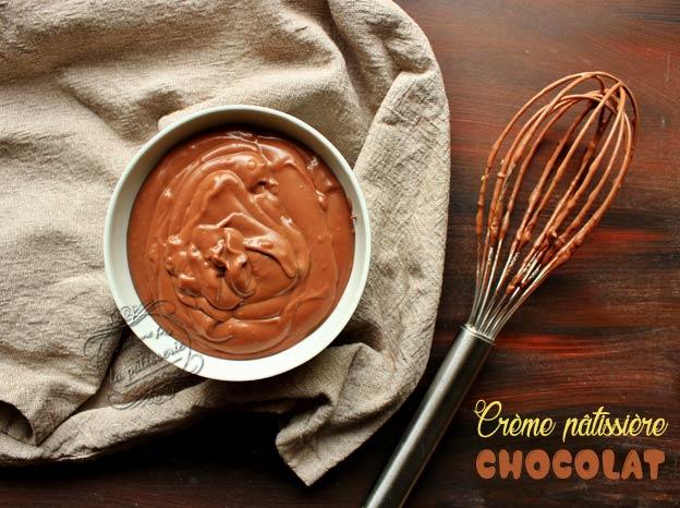 creme patissiere chocolat
