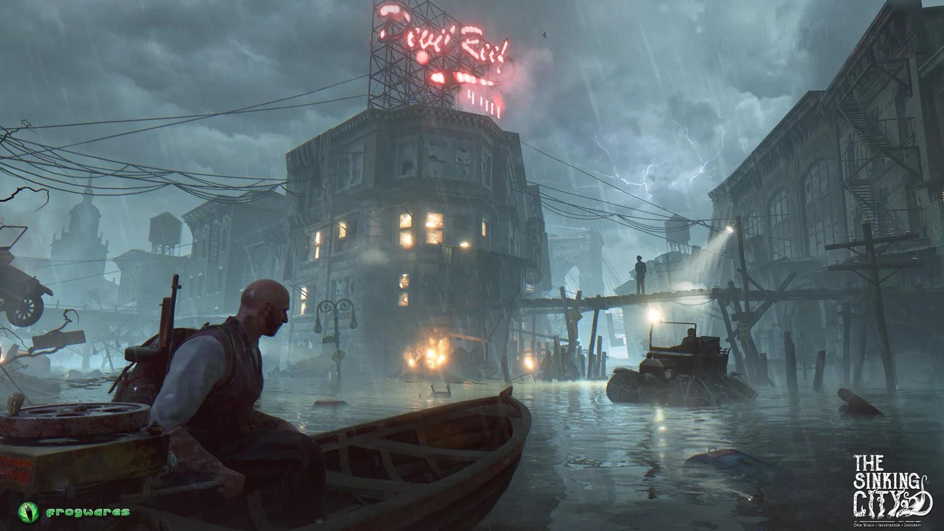 The Sinking City Steam