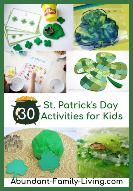 30 St. Patrick's Day Activities for Kids