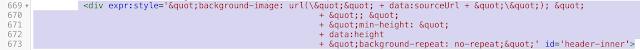 【QooQカスタマイズ】ヘッダーを変更するHTMLも変更後
