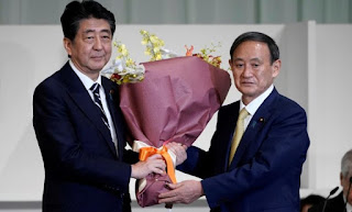 China congratulates Japan's newly elected head of ruling LDP