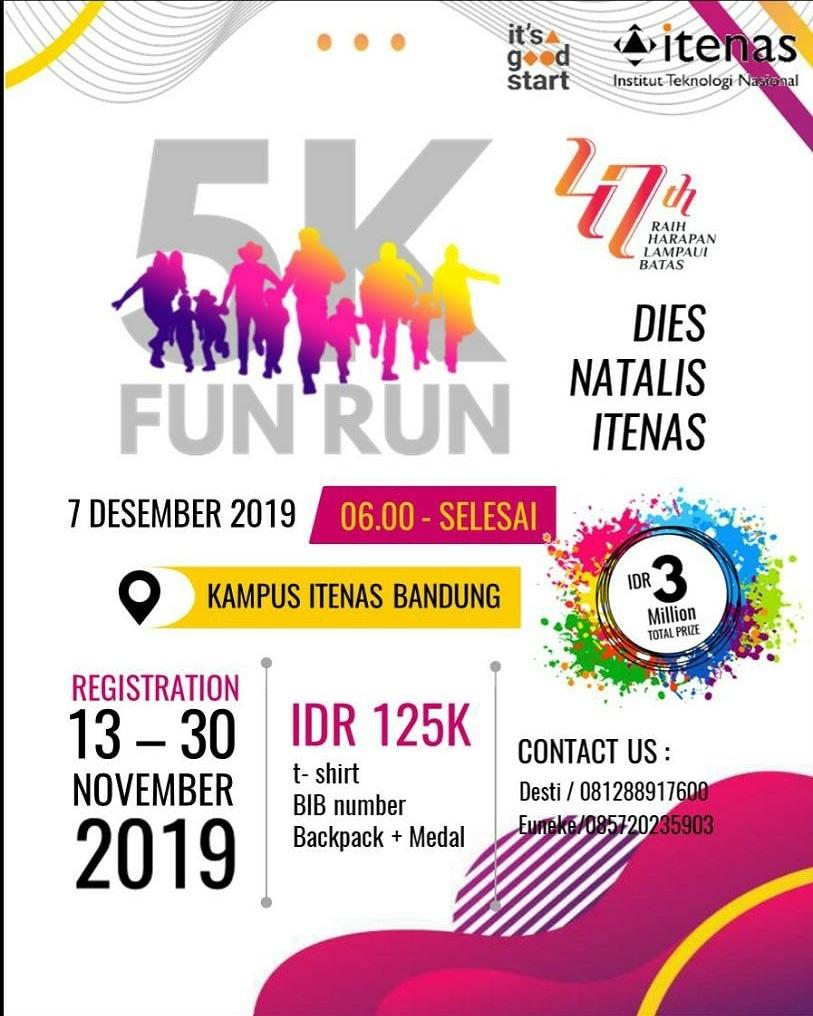Fun Run Dies Itenas • 2019