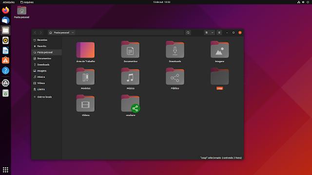 ubuntu vindo com cada vez mais snap