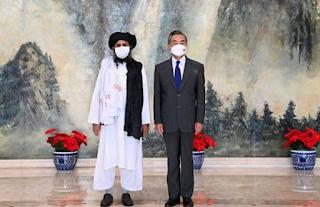 Delegasi Taliban Kunjungi China