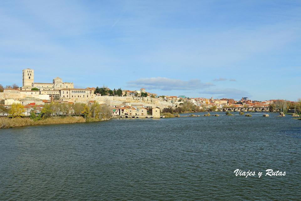 Río Duero y Zamora