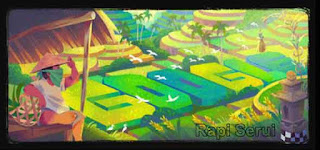 Google Doodle Subak Bali
