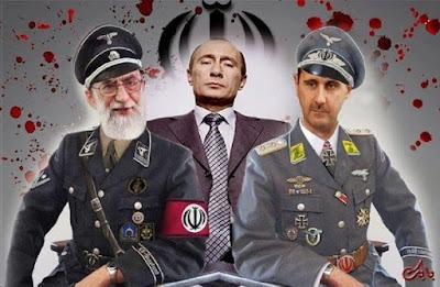 Syiah Suriah Minta Pertolongan Ali, Khomeini dan Putin