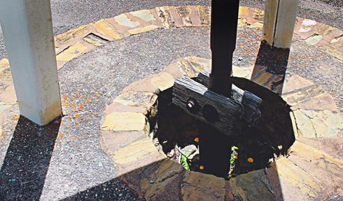First Oil Well Waterton Alberta