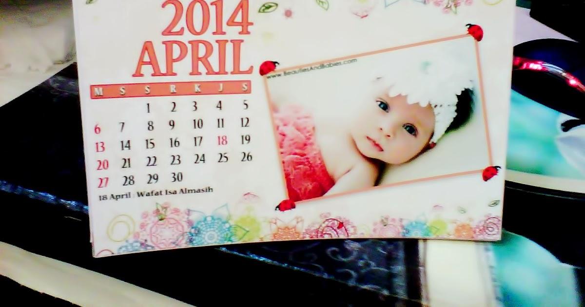 35+ Inspirasi Contoh Desain Kalender Foto Sendiri, Desain ...