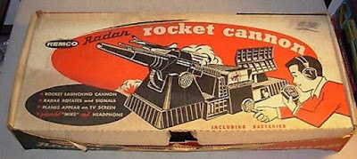 Remco Radar Rocket Cannon