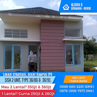 Rumah Mewah Harga Terjangkau Lokasi Strategis di Dramaga Bogor