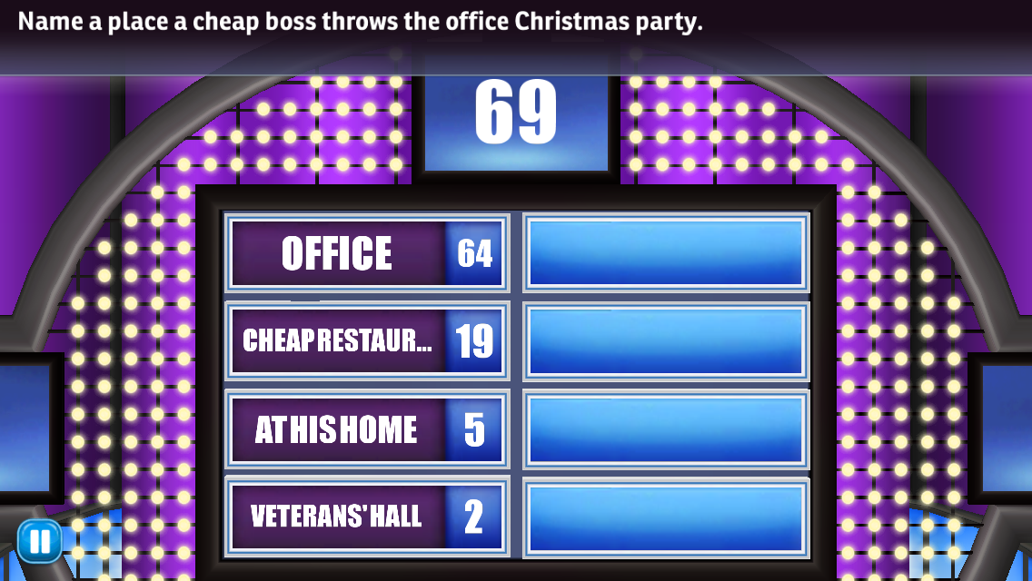 Family Feud And Friends Answers