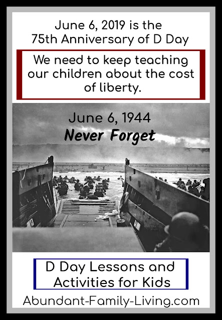 D Day Lessons and Activities for Kids