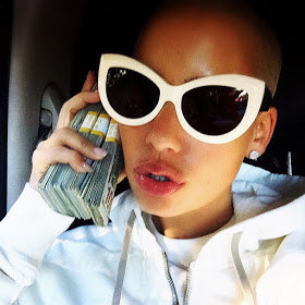 See What Amber Rose Posted About Angelina Jolie Amid Divorce