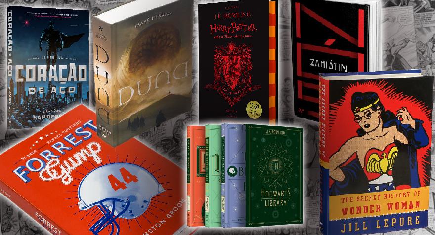 Livros e HQs | Últimos Lançamentos da Literatura Nerd