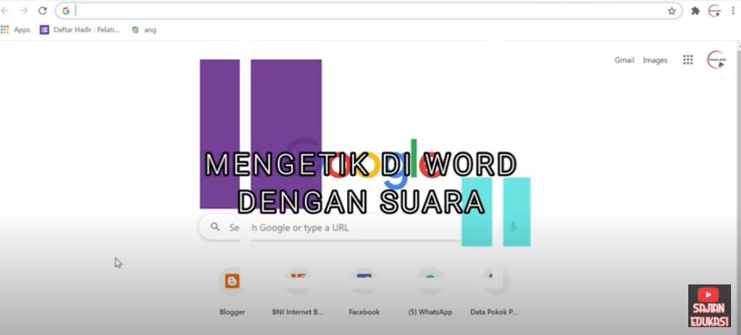 gambar mengetik dengan suara di google doc