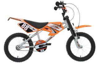 "Motobike MXR450 16"" Kids Bike"