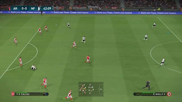 تحميل لعبة بيس 2017 بحجم 1 ميجا للكمبيوتر