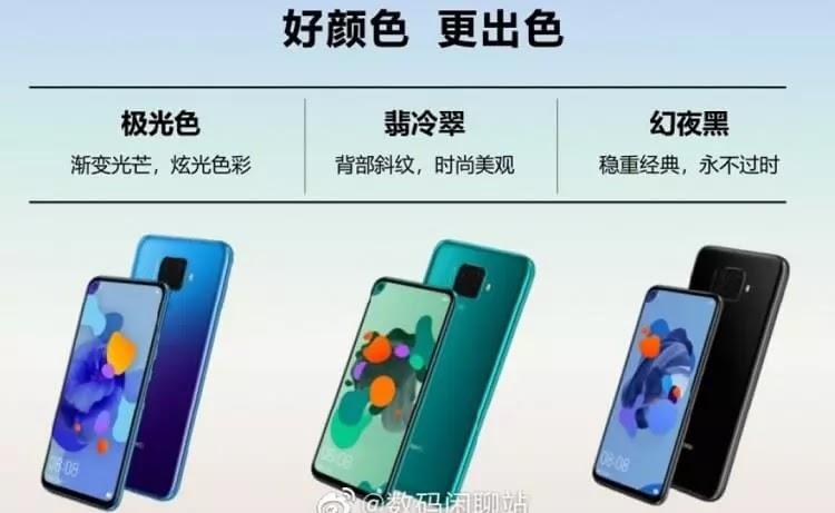 Huawei Nova 5i Pro Images, Specs Leaked