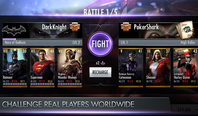 Download Injustice: Gods Among Us v2.9 Mod Full Apk Terbaru Gratis