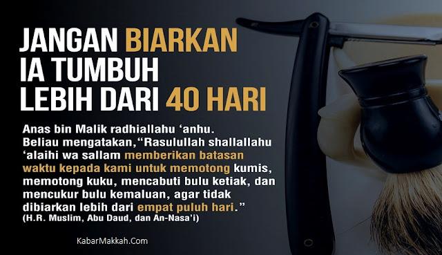 Hukum Mencukur Bulu Kemaluan Menurut Islam, Simak Adab dan Tata Caranya Yang Benar!