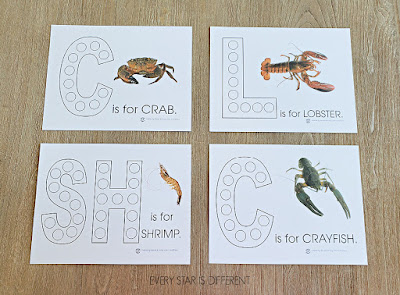 Crustaceans Do-a-Dot Pages