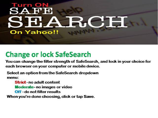 yahoo safe search dns