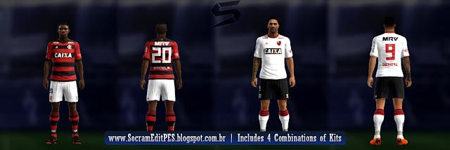 C.R Flamengo 2018-19 Kit PES 2013