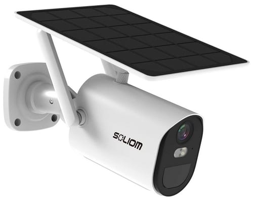 SOLIOM B10 Solar Wireless Battery Powered Security Camera