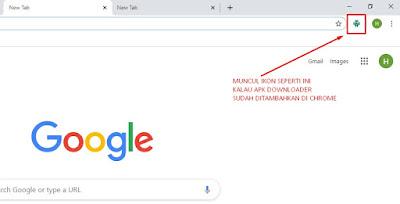 cara download apk di komputer dengan google chrome