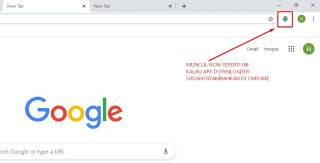 cara download apk di komputer dengan google chrome