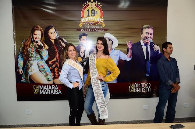 ARCA anuncia os shows para a 19ª Expoac e Maiara & Maraisa são presenças confirmadas