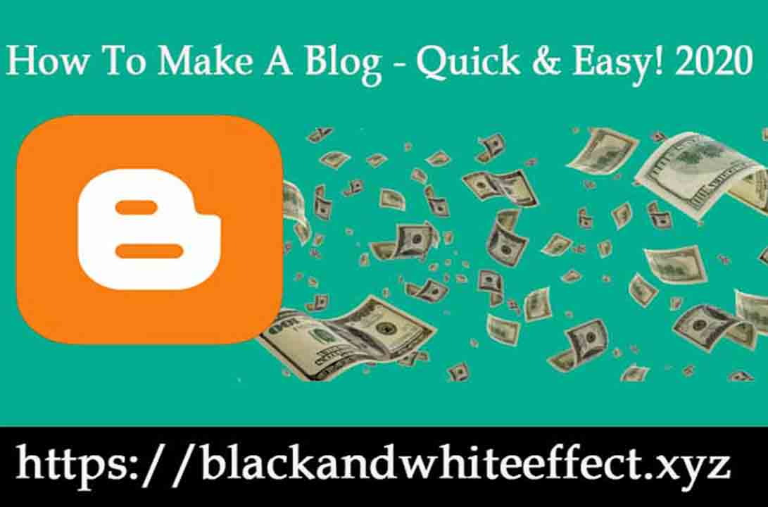 How To Make A Blog - Quick & Easy! 2020