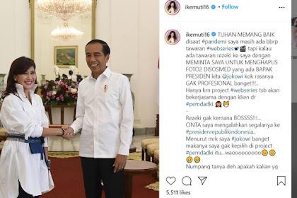 Untuk Dapat Proyek Pemda DKI Harus Hapus Foto dengan Jokowi? TGUPP: Itu Fitnah Jahat Banget