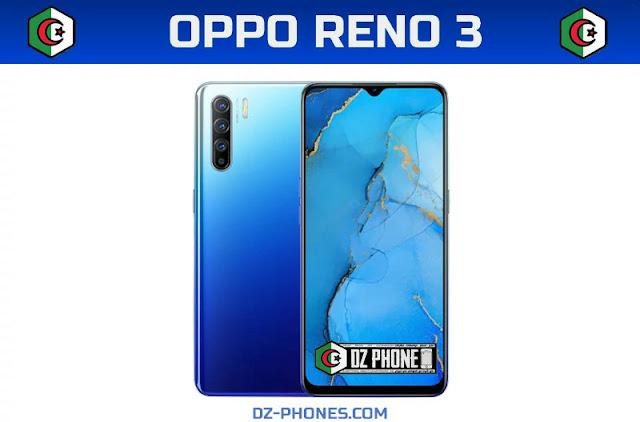 اوبو رينو 3 السعر والمواصفات في الجزائر Oppo Reno 3 Prix Algerie