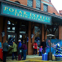 Polar Express Train Ride Blackstone Valley RI New England Fall Events Train Depot I Love Olive Photography