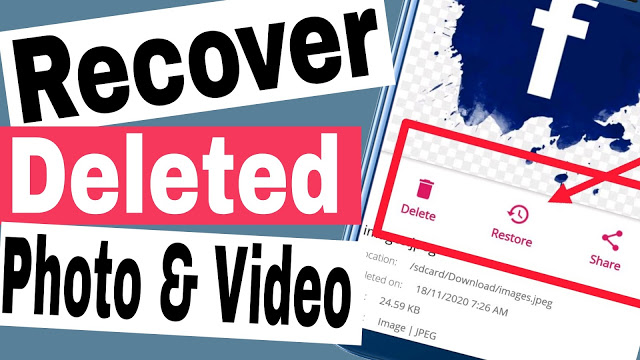 Recover Deleted Photos, Videos, Audios On Android