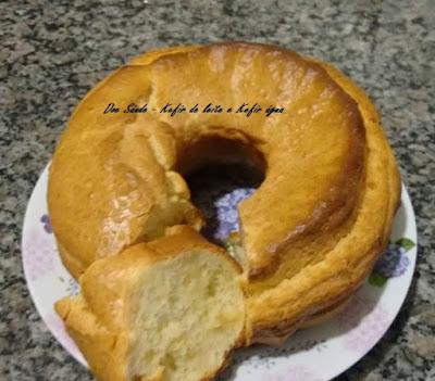 Pão de queijo de liquidificador de Kefir