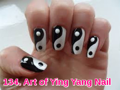 Art of Ying Yang Nail