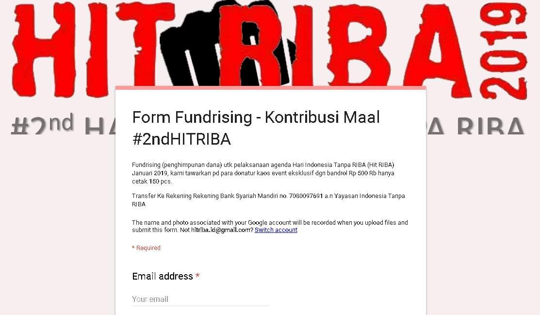 Klik Untuk Komitmen Kontribusi Mall #2ndHITRIBA