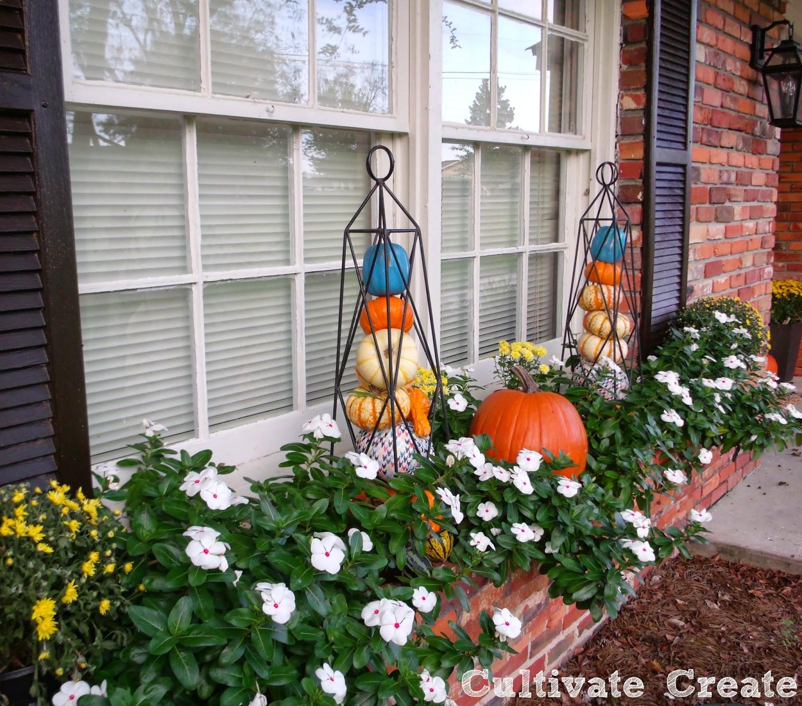 Fall Window Box: Cultivate Create: Fall Window Box