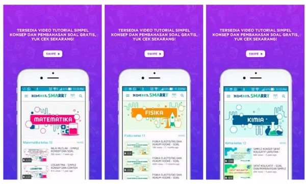 Bimbel SMARTT aplikasi belajar online terbaik