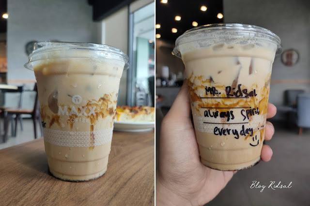 MAXX COFFEE - SUMMER EDITION di Plaza Medan Fair - Menu 01