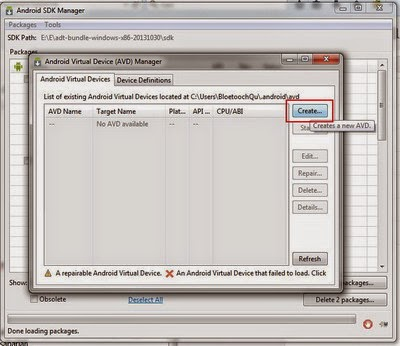 Cara Install Emulator Android SDK di Windows