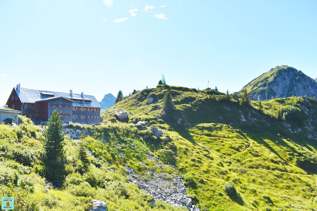 Refugio Freiburger Hütte en Formarinsee, Vorarlberg