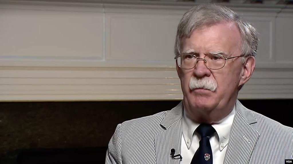El asesor de Seguridad Ncional, John Bolton, es clave en el papel jugado por el gobierno de EE.UU. respecto a la crisis en Venezuela / VOA