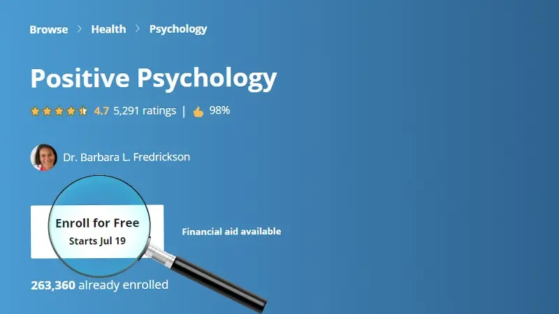علم النفس الايجابى