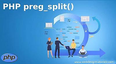 PHP preg_split() Function