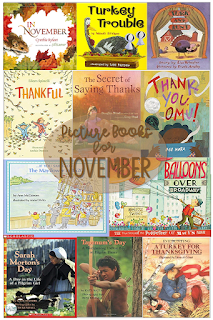 fall picture books read aloud, best picture books Thanksgiving